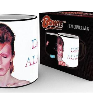 David Bowie, Heat Change Mug, Alladin Sane