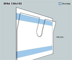 Etikettficka EFA6 150-105 F