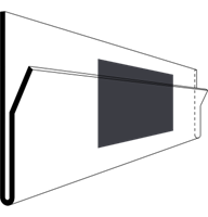 Etiketthållare SBB 210-40F