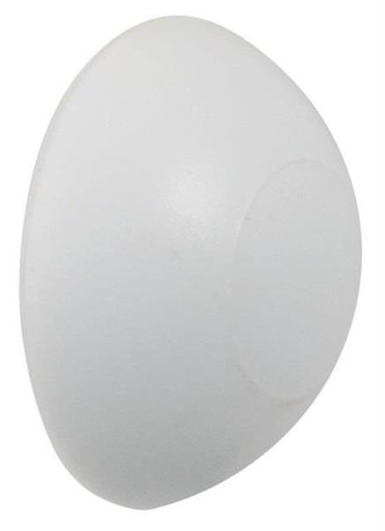 Dørstopper Ø60x17 mm Hvit - 2 stk