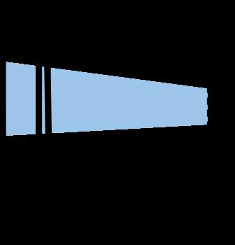 Etiketth. EL 105-39F rak tejp