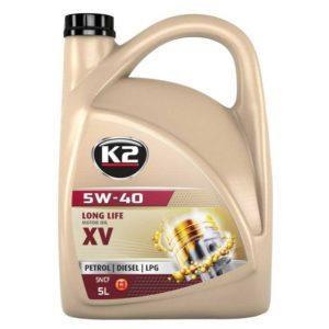 K2 5W-40 XV-C3 LONG LIFE HELSYNTET