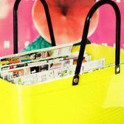 Hinza väska gul stor