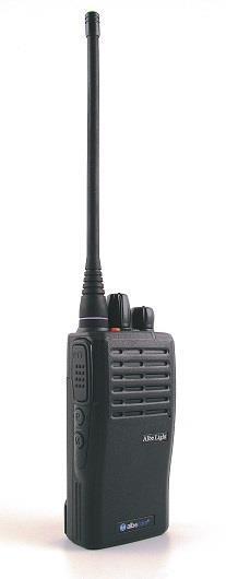 Radiopaket Industri Light Pro. UHF 400mhz. Svart