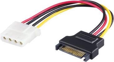 Adapter SATA-Molex Strömadapter