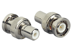 Videoadapter, RCA - BNC Guld