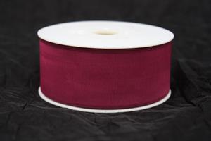 Band 40 mm 50 m/r organza violet