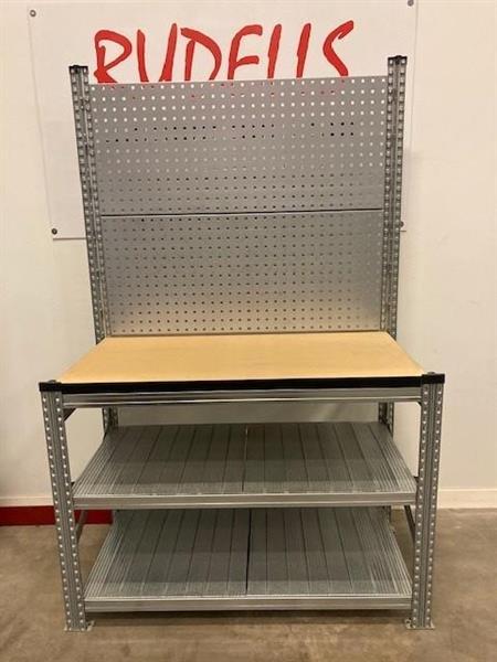 Arbetsbänk Super verktygtavla 600x1200 mm