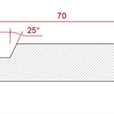 12x70 Gran Bastupanel L=2400mm 16.00 kr/lm