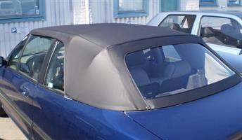 Sufflett Rover 214, 216 92-96 vinyl svart combo