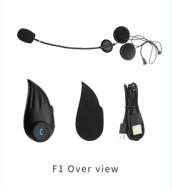 Blå Tands MC Headset Intercom.BTH-F1