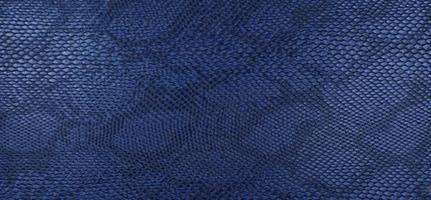 Konstläder ormskinn blå