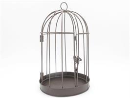 Fågelbur brun 44 cm