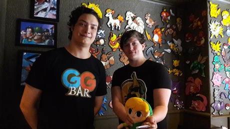 Nu kan du se några av våra figurer på GG Bar!