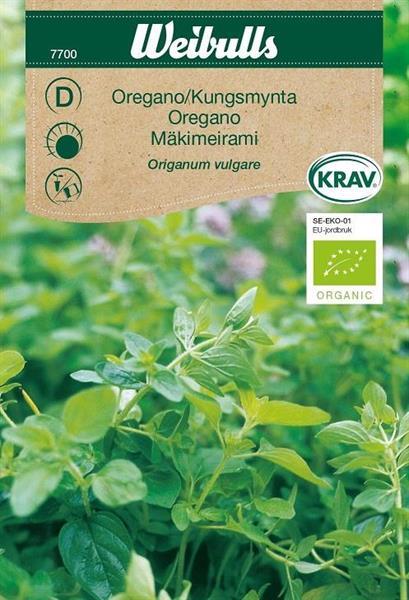 Oregano Kungsmynta Krav Organic