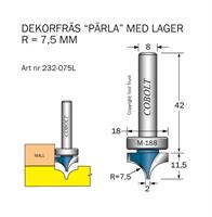 Dekorfräs Pärla m lager M-188