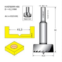 Kvistborr HSS D=41.3 TL=90 S=9.5
