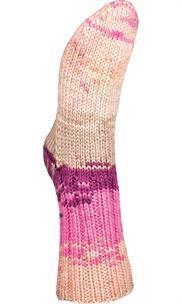 Järbo garn Raggi beige/violet batik