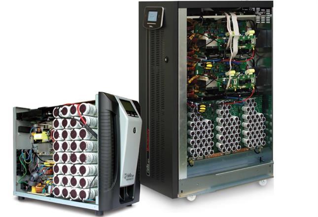 Riello SuperCaps UPS- järjestelmät 1kVA-6,4MW