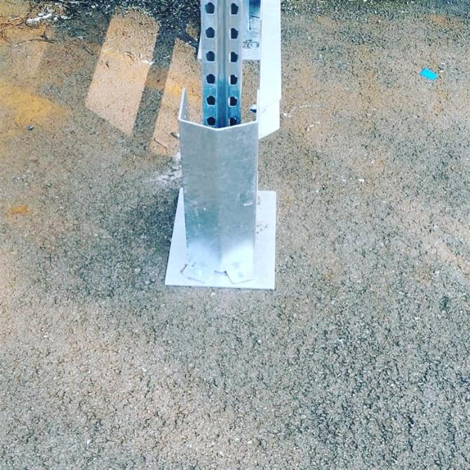 AR Racking - Galvaniserat pallställ - Pretec