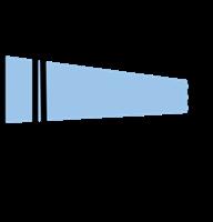 Etiketth. EL 840-26F rak tejp