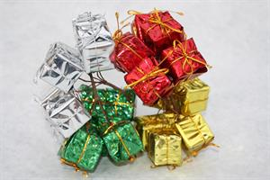 Paket med tråd olika färger