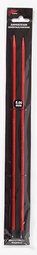 Järbo Garn jumpersticka 30 cm/5,0 mm röd
