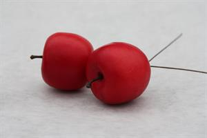 Äpple rött 4 cm 12/fp