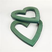 Oasis Hjärta öppet 43x43cm plastbotten 2/fp