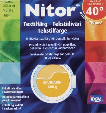 TEXTILFÄRG MANDARIN 38 NITOR