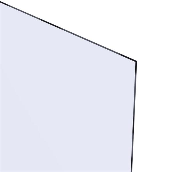 Akrylglass 4,0x1000x495 mm - Klar
