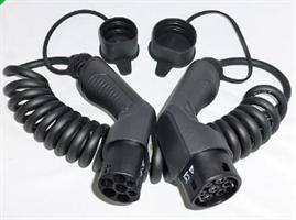 Besen 32A spiral T2-T2 kabel