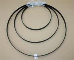 Metallring 3set svart D24/35/45cm