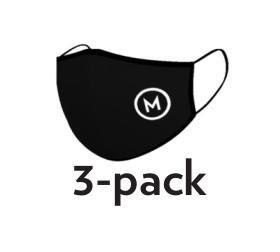 Montibello Munskydd 3-pack