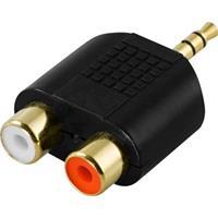 Adapter 3.5mm M - 2xRCA F