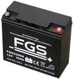 FGS 12 V Gel-batteri 17 AH