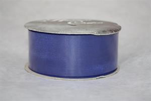 Band 40 mm 25 m/r blå chiffon