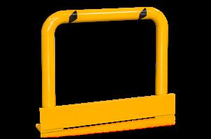 Påkörningskydd skyddsräcke med plåt H=1050