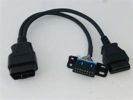 OBD splitter kabel 1 til 2
