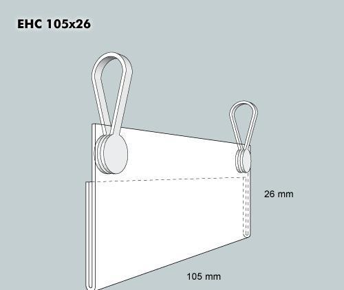 Etiketthållare EHC 105-26F