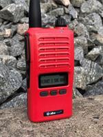 Radiopaket ALBE X5-140/155mhz.LCD.Röd.140mhz antenn