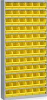 Backskåp inklusive 72 st Plastbackar gul