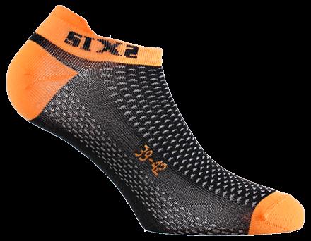 SIXS - No-Show Socks - Orange