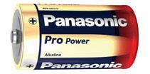 Batteri LR20.Alkaline/2st Panasonic