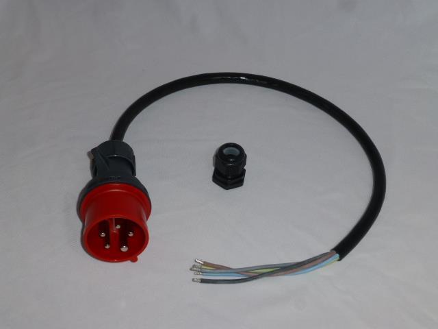 16A 3F Cee installasjons kit