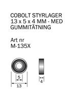 M-135X Kullager 13 x 5 x 4 mm