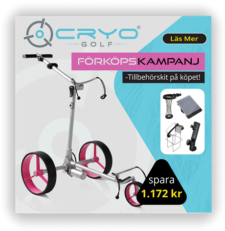 Förköpskampanj Cryo Golf Elvagnar!