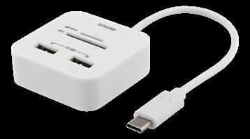 USB Hub 4-portars 3.1 USB-C