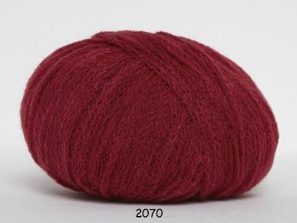 Kinna Textil Rustic Baby Alpacka röd