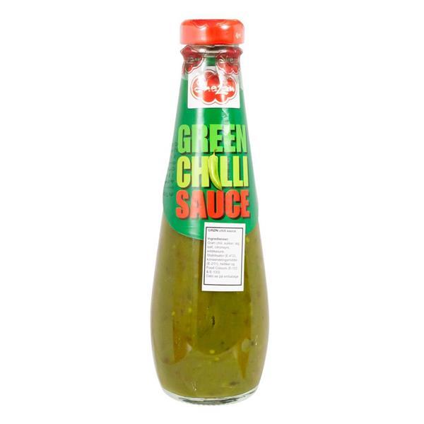 Chilisås Grön Shezan 24 X 300g